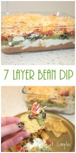 7 Layer Bean Dip Recipe