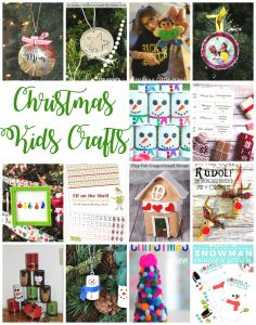 Christmas Kids Crafts {MMM #412 Block Party}