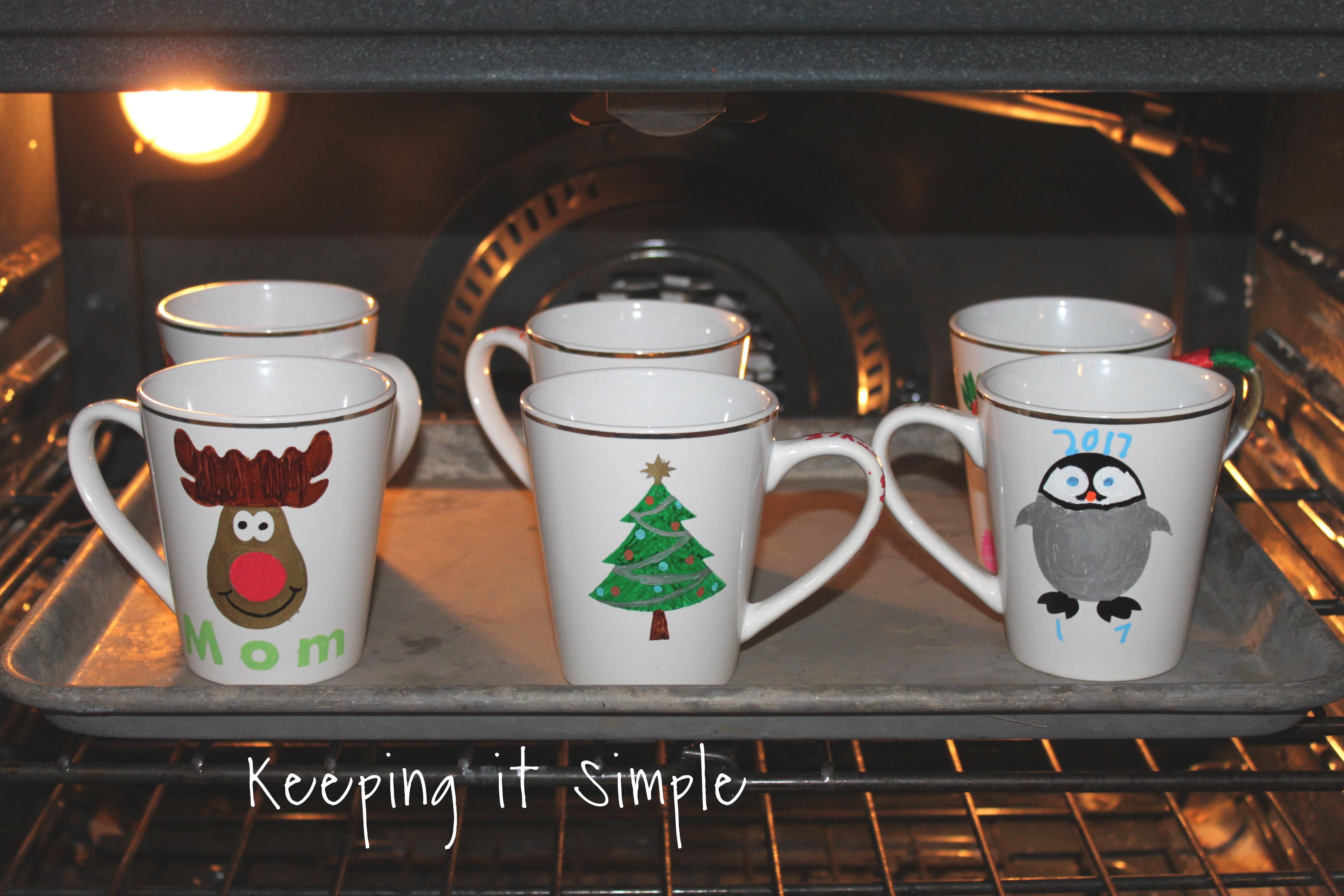 Diy Personalized Christmas Mugs 13 2 Keeping It Simple