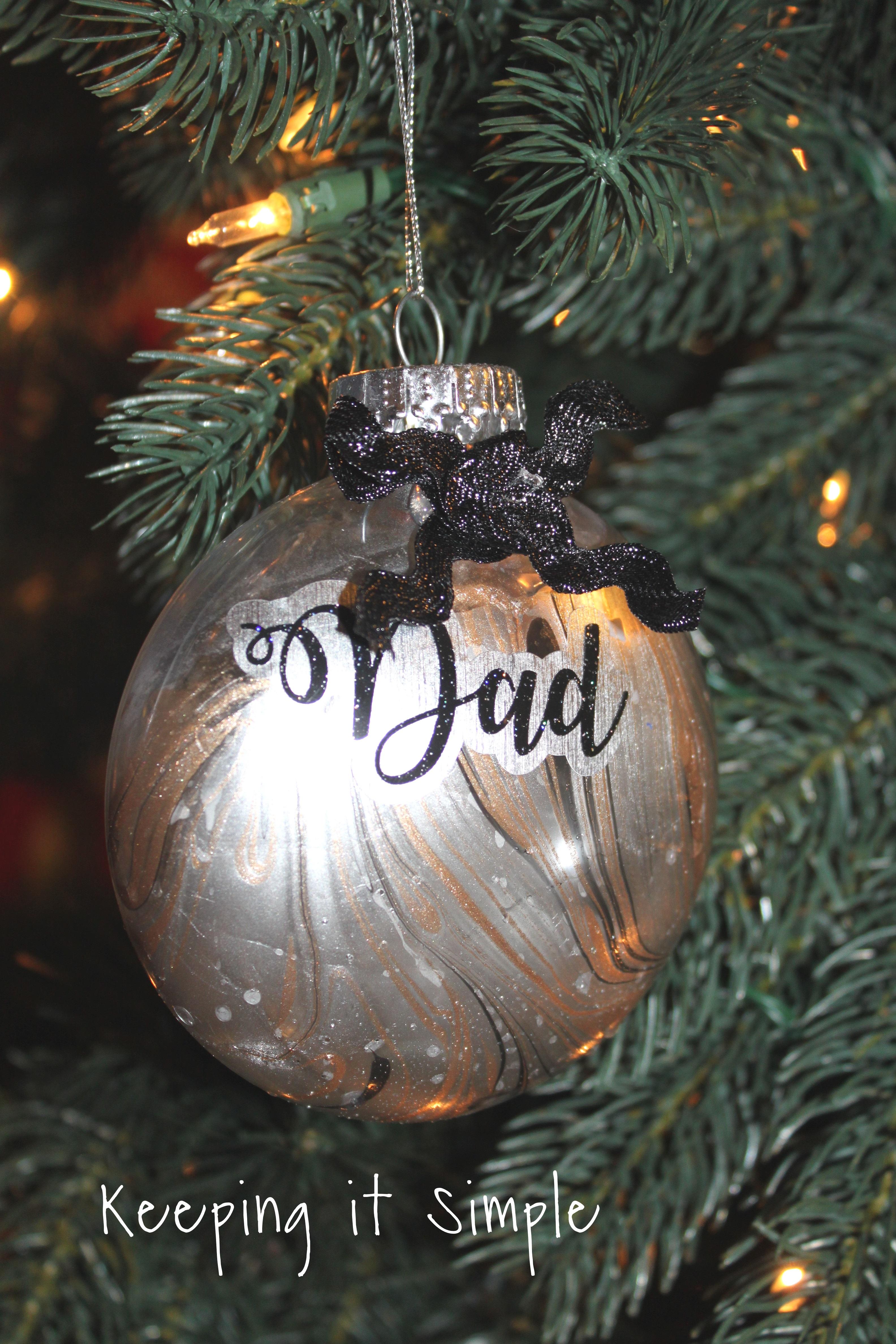Nail Polish Dipped Christmas Ornament 2 2 Keeping It Simple