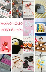 Lots and Lots of Homemade Valentines {MMM #416 Block Party}