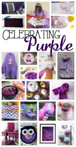 Ultra Violet Color of the Year- Purple Craft Ideas