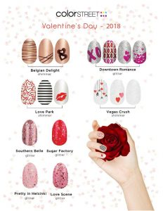 Color Street Valentine Nails