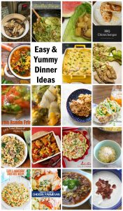 Easy and Yummy Dinner Ideas {MMM #420 Block Party}