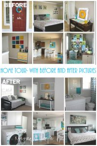 Home Tour- Before and After