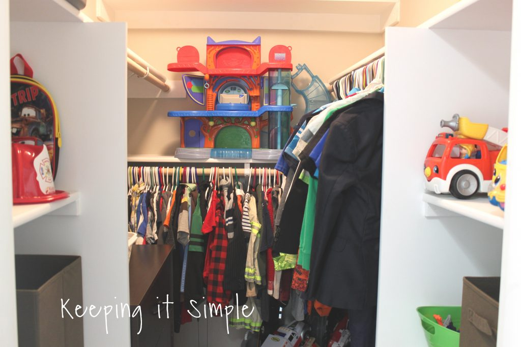 We Were Even Able To Get A Dresser In There! These 10 Gallon Totes Fit  Perfectly On The Shelves! I Was Able To Even Get Two Stacked On Each Other  On The ...