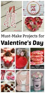 Last Minute Projects to Make for Valentine's Day {MMM #419 Block Party}
