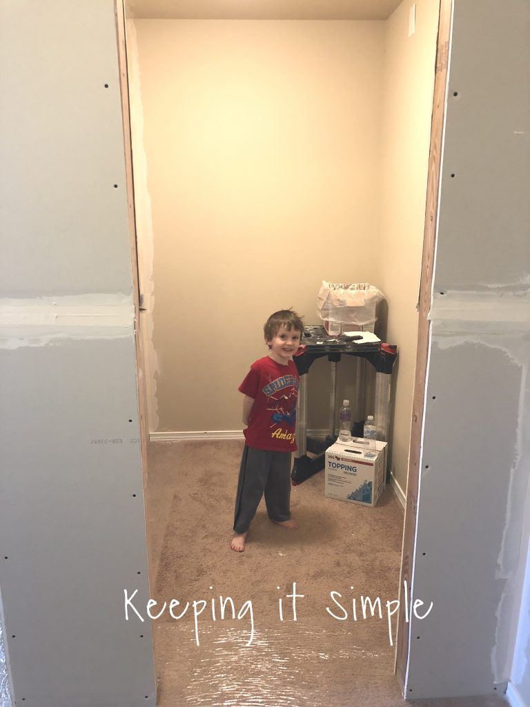 My Cute Boy Was Super Excited About This Closet And Was The Little Helper  Along The Way!