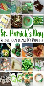 St. Patrick's Day Recipes, Crafts and More {MMM #422 Block Party}