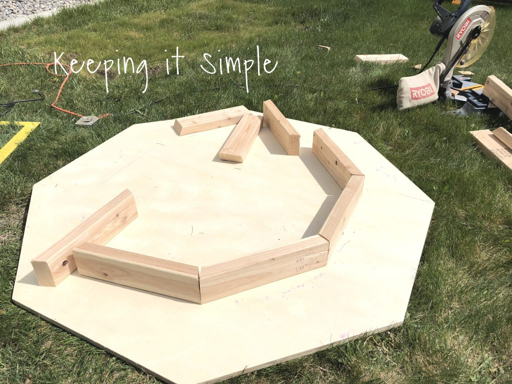 Picture of: Backyard Ideas Diy Fire Pit Cover Keeping It Simple