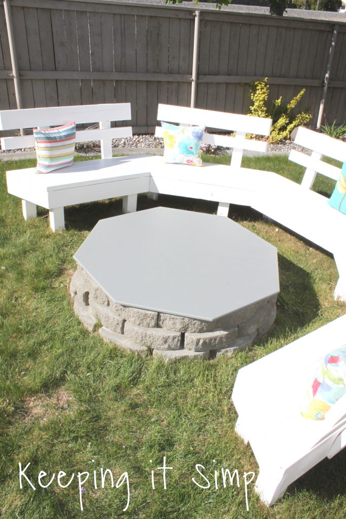 backyard ideas- diy fire pit cover • keeping it simple
