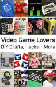 Ideas for Video Game Lovers {MMM #426 Block Party}