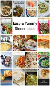 Easy Dinner Ideas {MMM #427 Block Party}