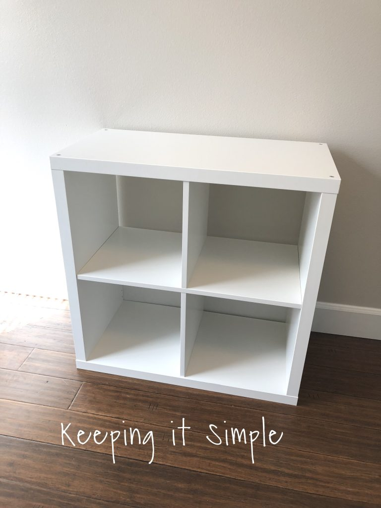 Ikea hack diy computer desk with kallax shelves keeping it simple about these shelves is that they come in a variety of colors so you could really have fun with it i used white but another color would be so much fun thecheapjerseys