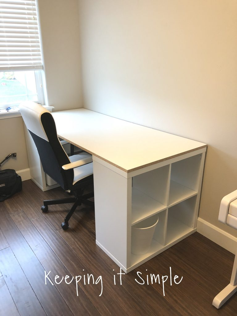 This Is The Joy Of Building Your Own Desk, You Can Make It As Wide As You  Want. I Wanted A Big Space So I Went With 6 Feet But You Can Go Bigger Or  Smaller.