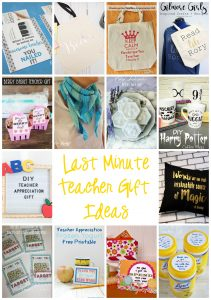 Last Minute Teacher Appreciation Gift Ideas {MMM #430 Block Party}