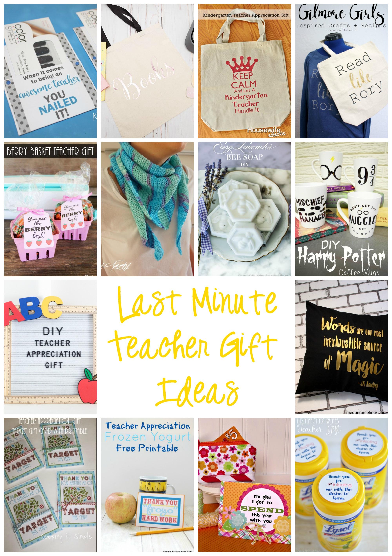 Last Minute Teacher Appreciation Gift Ideas {MMM #430 ...