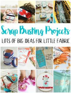 Fun Sewing Ideas using Scraps or Little Fabric {MMM #437 Block Party}