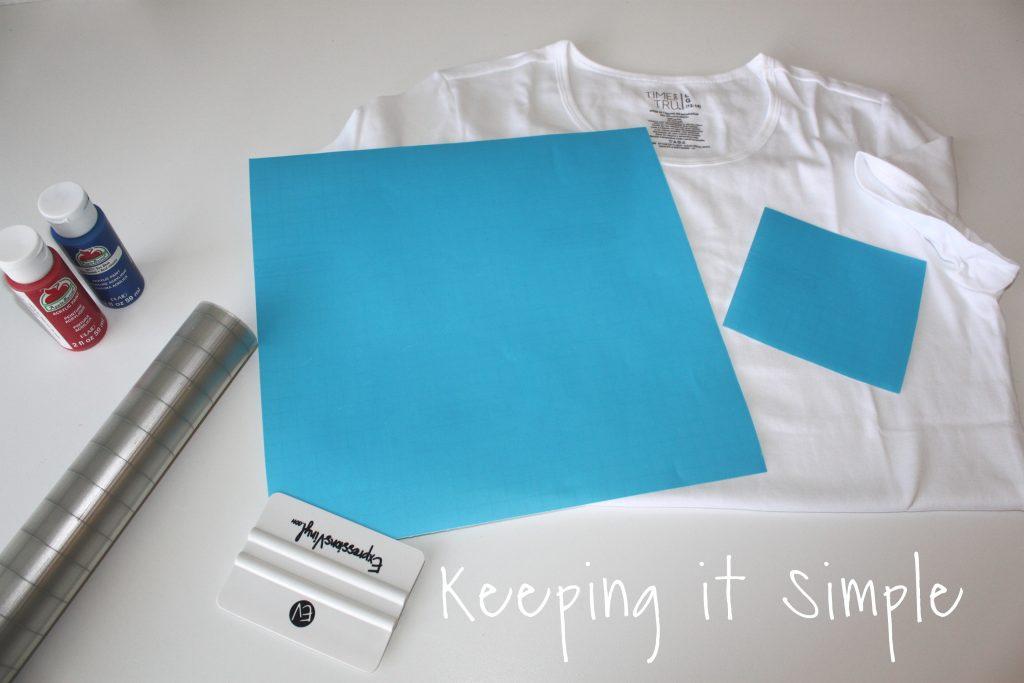 DIY 4th of July Shirt Design Ideas • Keeping it Simple