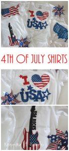 DIY 4th of July Shirt Design Ideas