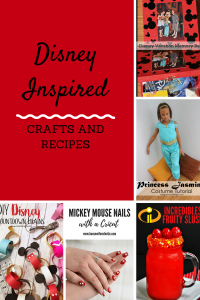 Disney Crafts and Recipes {MMM #439 Block Party}