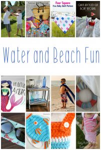 Water and Beach Fun {MMM #442 Block Party}