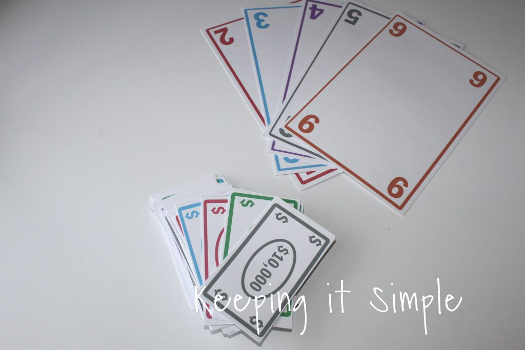 image regarding Printable Tenzi Cards known as Enjoyable and Straightforward Cube Activity with Printable Preserving it Straightforward