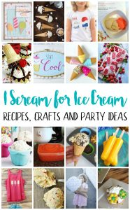 Ice Cream Recipes and Crafts {MMM #441 Block Party}