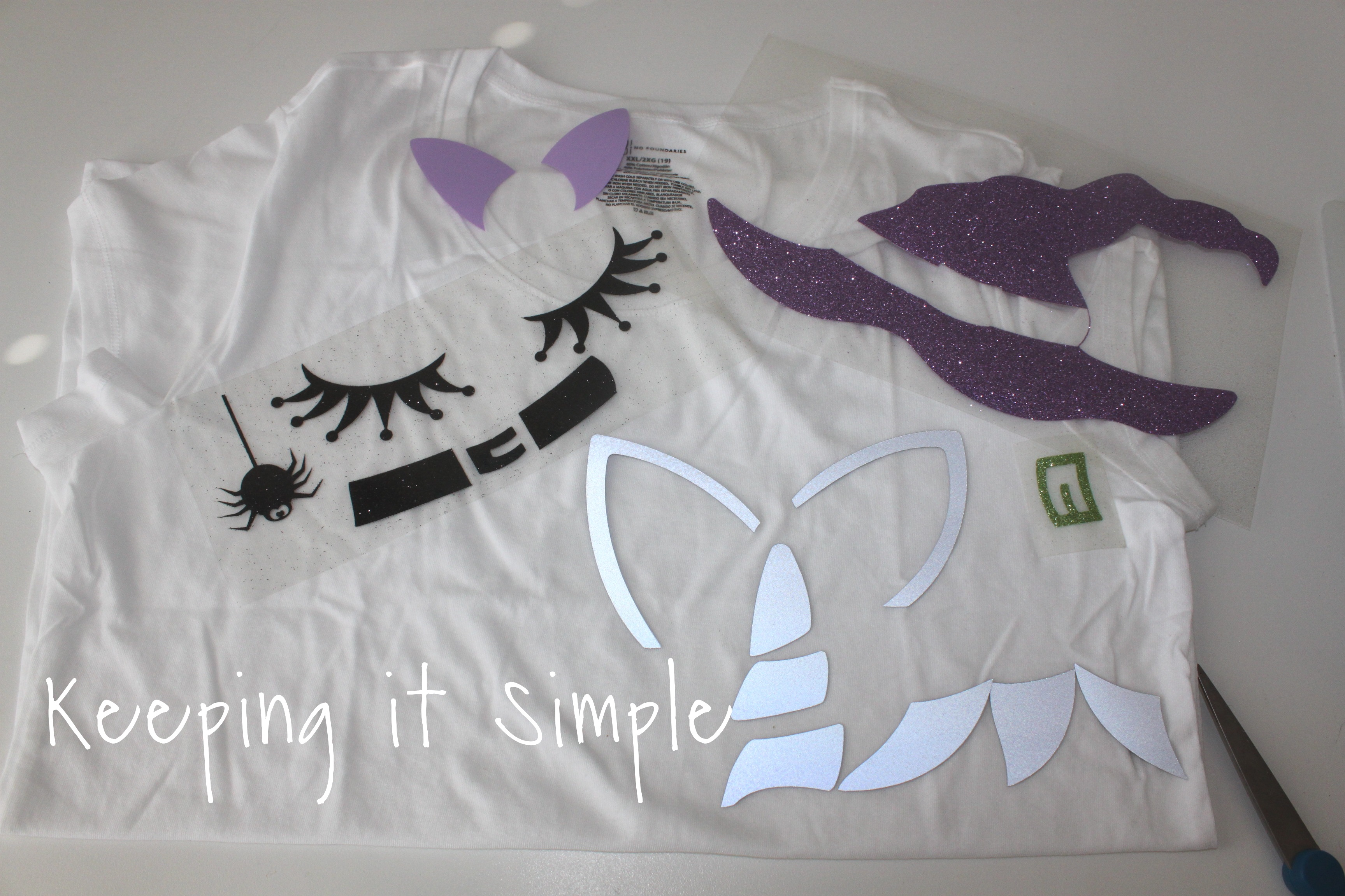 eda9ff16 girls-Halloween-shirt-unicorn-witch (4)2 • Keeping it Simple