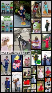 The Best Homemade Halloween Costumes {MMM #451 Block Party}