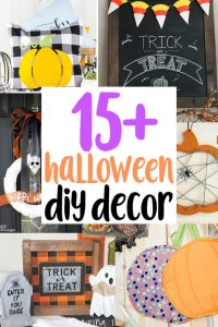 Easy Halloween Decorations {MMM #452 Block Party}