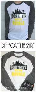 DIY Fortnite Battle Royale Shirt