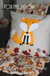 Fox Fall Pillow