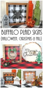 How to Make a Buffalo Plaid Sign with Vinyl
