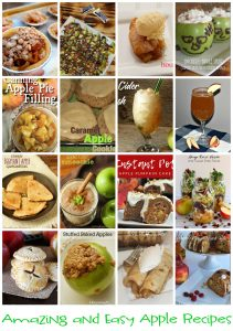 Amazing and Easy Apple Recipes {MMM #450 Block Party}