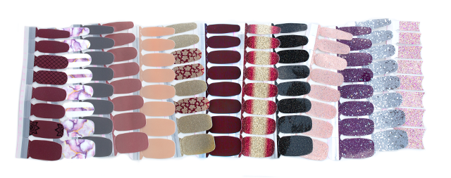 Introducing Color Street 100 Nail Polish Strips Easy Application