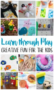 Learn Through Play- Creative Fun for Kids {MMM #449 Block Party}