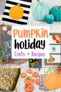 Pumpkin Crafts and Recipes {MMM #448 Block Party}