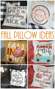Fall Pillow Ideas with SVG Cut Files