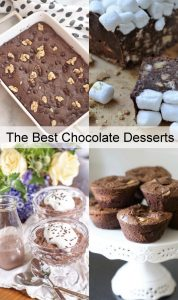 Amazing Chocolate Desserts {MMM #455 Block Party}