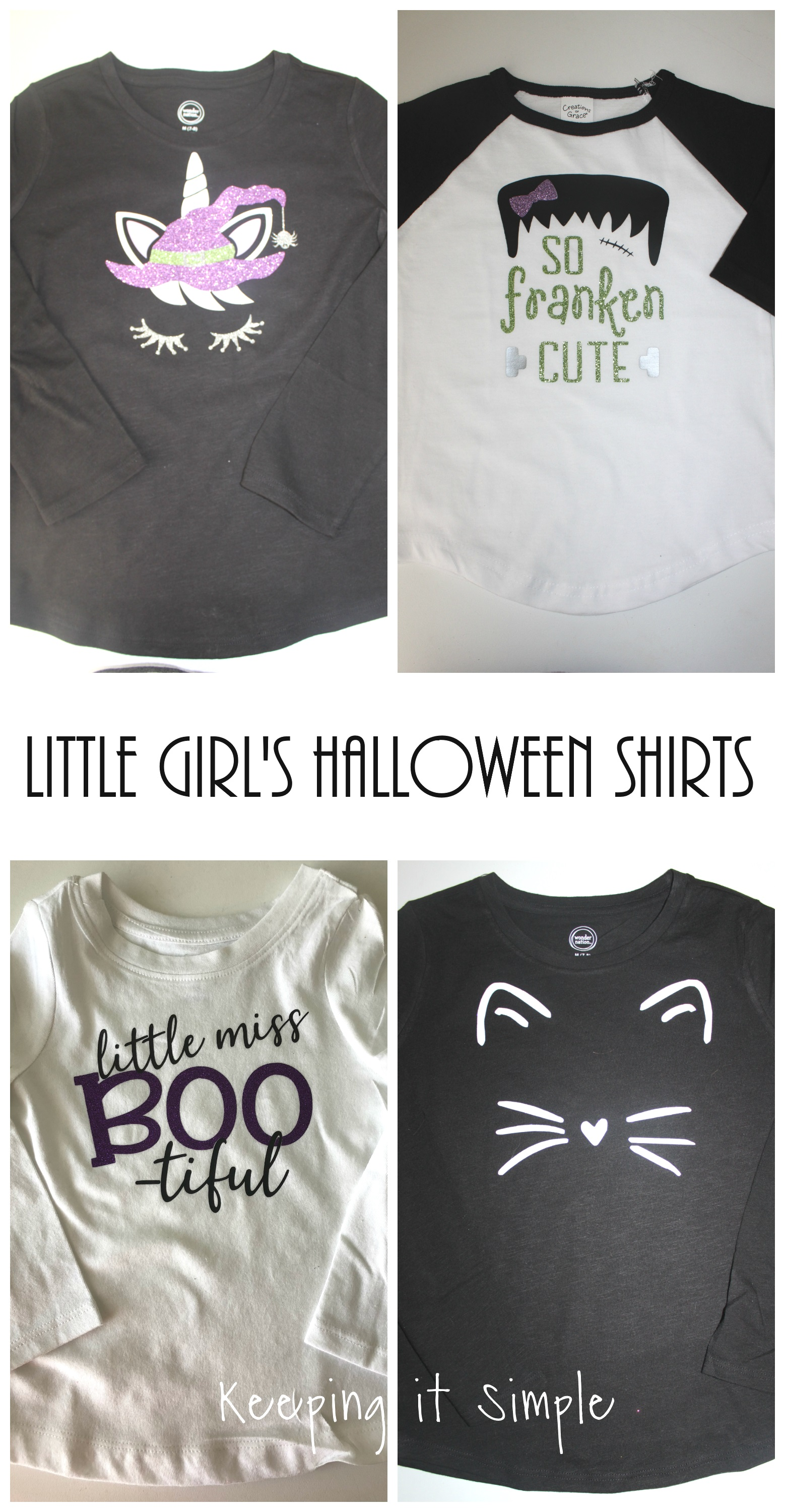 little girls halloween shirt ideas with svg cut files • keeping it
