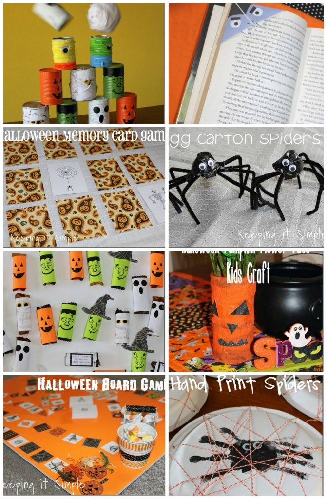 Halloween Kids Crafts And Block Party Rae Gun Ramblings