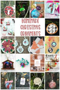 Homemade Christmas Ornament Ideas {MMM #458 Block Party}