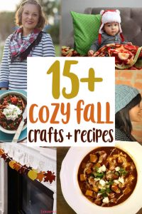 Cozy Fall Crafts and Recipes {MMM #456 Block Party}