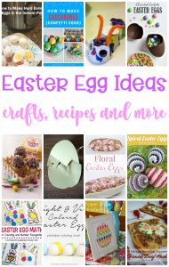 Easter Egg Ideas- Crafts, Recipes and More {MMM #473 Block Party}