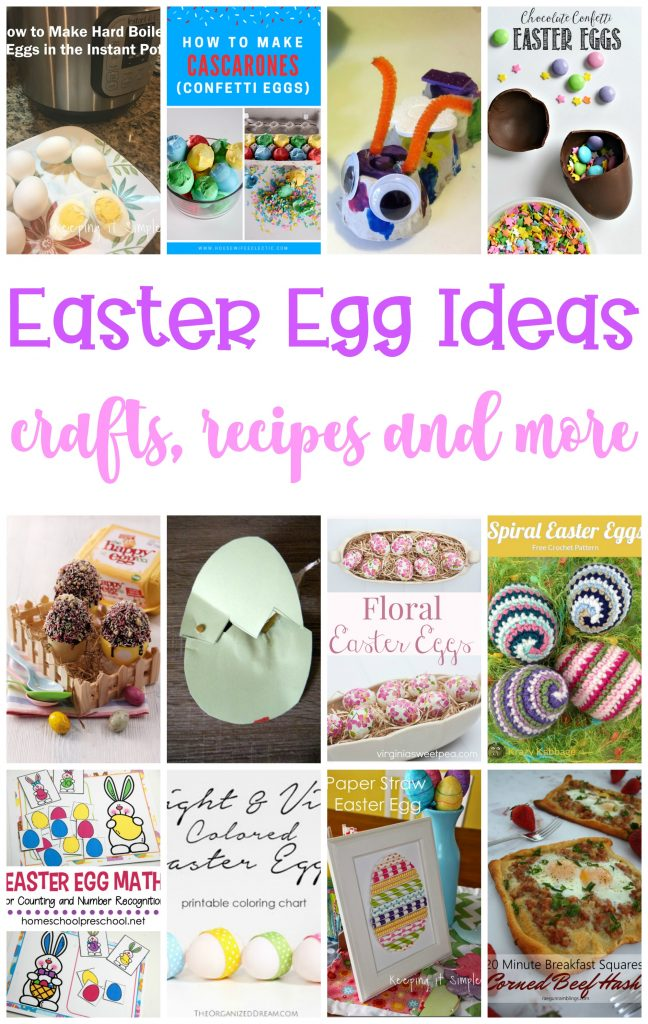 Easter Egg Ideas Crafts Recipes And More