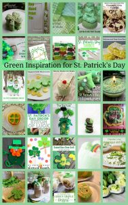 Green Inspiration for St. Patrick's Day {MMM #470 Block Party}