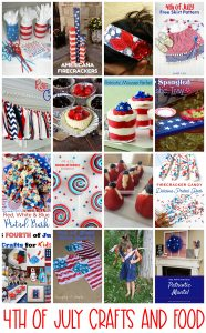 4th of July Crafts and Food {MMM #485 Block Party}