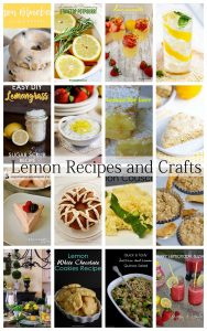 Lemon Crafts and Recipes {MMM #486 Block Party}