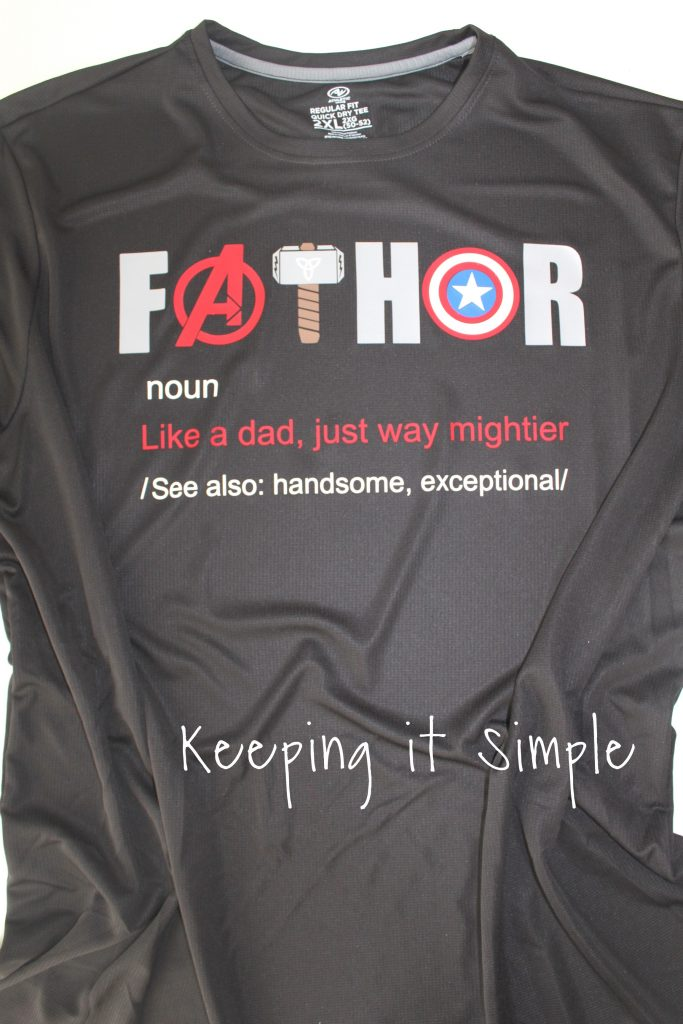 Avengers Shirt I Love You 3000 Keeping It Simple